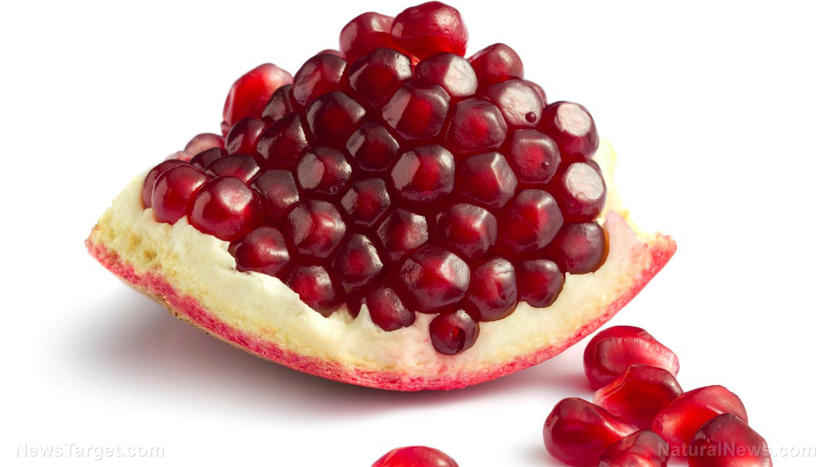 Image: Pomegranate extract found to help mitigate the effects of a high fat diet; when combined with inulin, it also lowers cholesterol