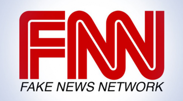 "Image: Why is CNN the only ""news"" network allowed in U.S. airports after being caught repeatedly pushing fake news?"