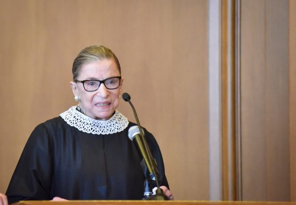 "Image: Ruth Bader Ginsburg clearly showing toxic effects of ""chemo brain"" … unable to think clearly, takes LONG pauses during conversations"