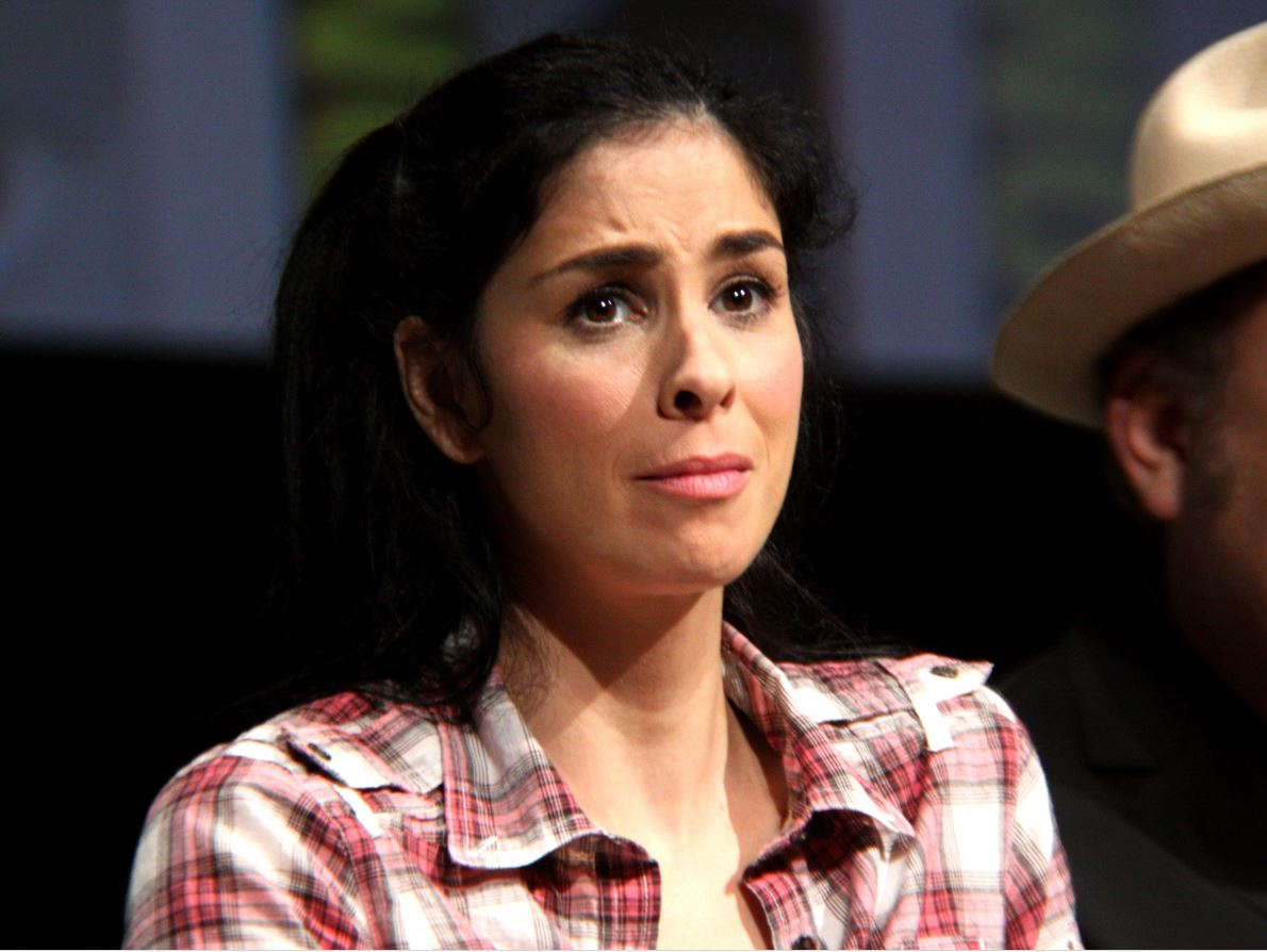 "Image: SICKOS: Pro-abortion leftist Sarah Silverman says she wants to ""eat an aborted fetus"""