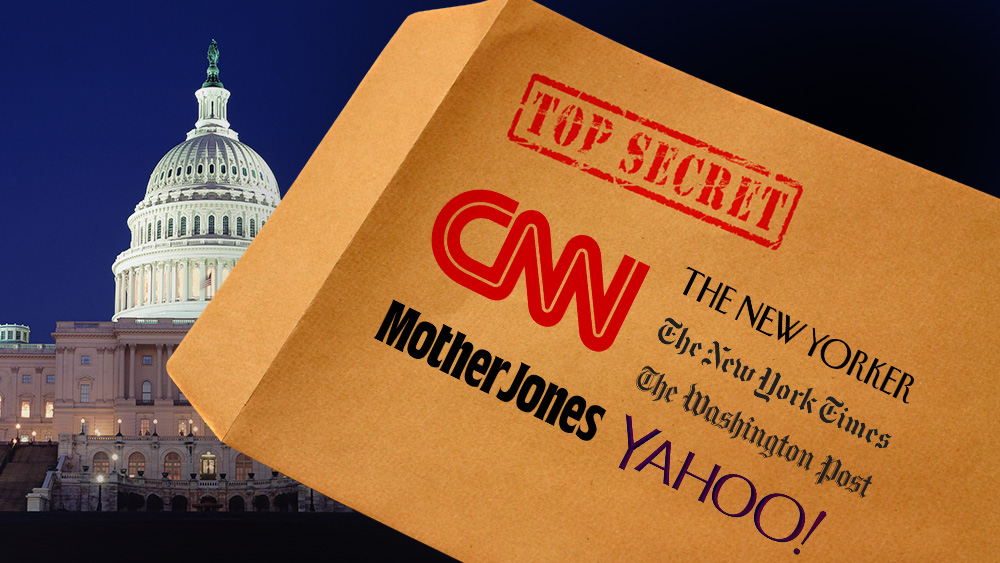 Image: Mother Jones, WashPost, NYT, CNN and Yahoo all exposed as deep state propaganda puppets in shocking FISA memo