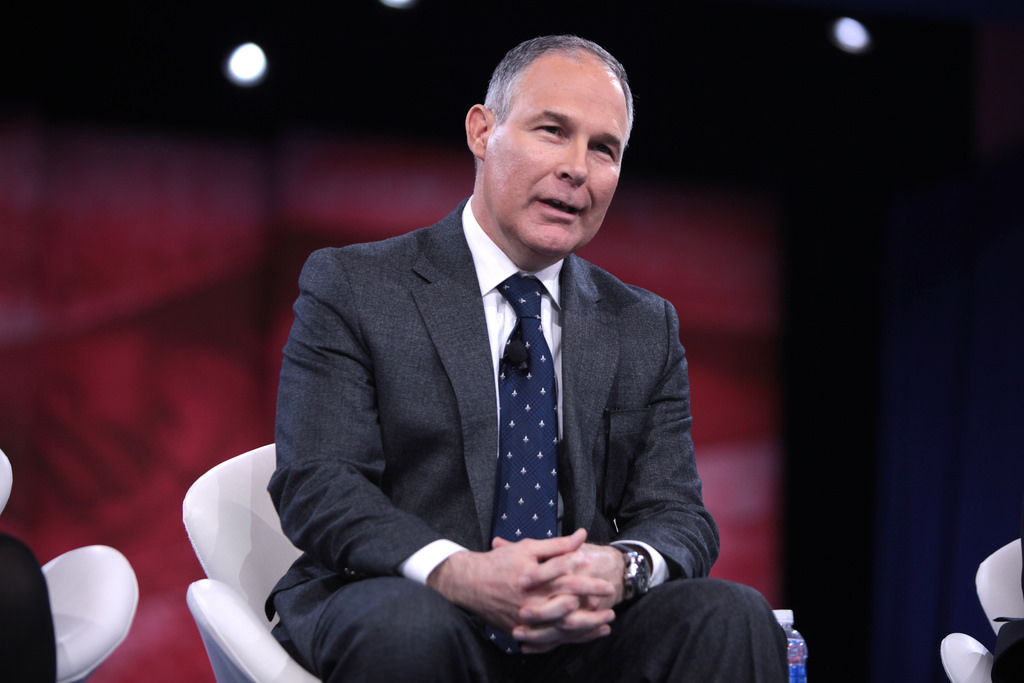 "Image: Finally: Trump's EPA director, Scott Pruitt, begins rolling back ""weaponization"" of his agency that was used to trample property rights"