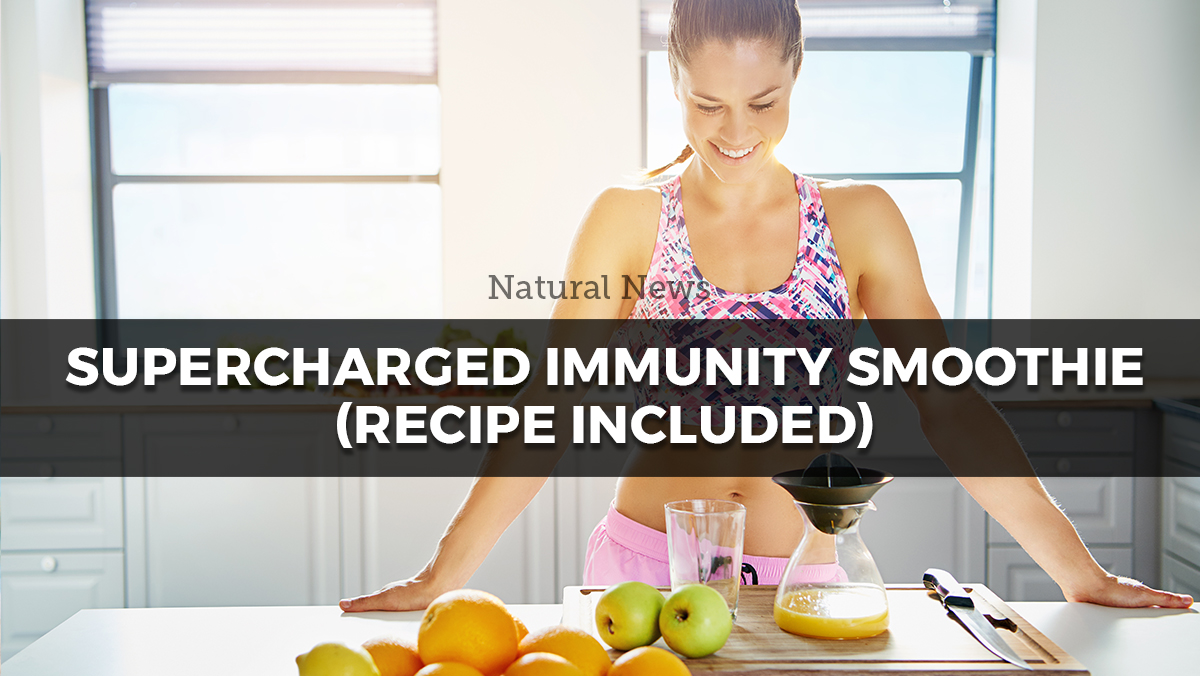 Image: Supercharged Immunity Smoothie (Recipe Included)