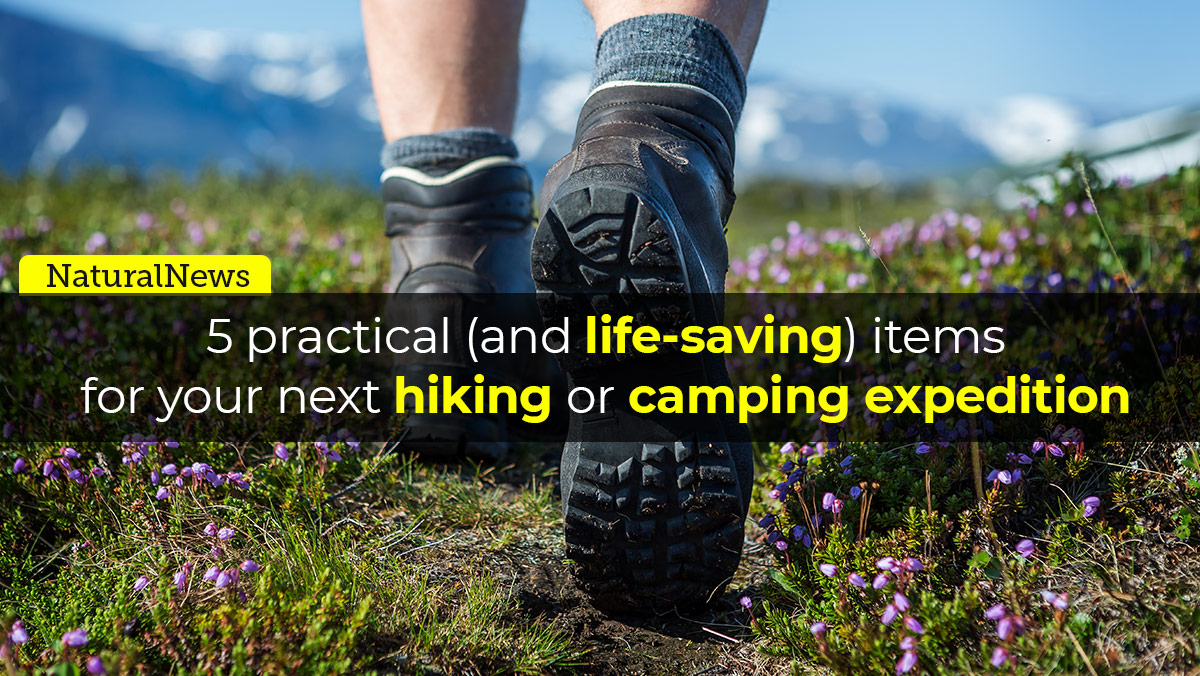 Image: 5 practical (and life-saving) items from the Health Ranger Store for your next hiking or camping expedition