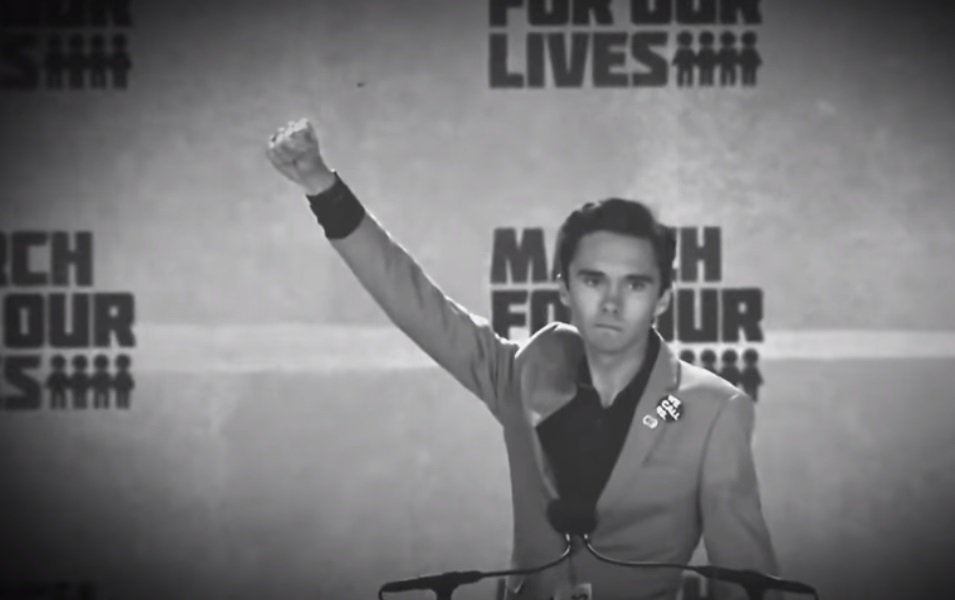 "Image: BOMBSHELL: Anti-gun sociopath David Hogg caught on Reddit celebrating the mass killing of ""billions of people"" as being ""great for the environment"""