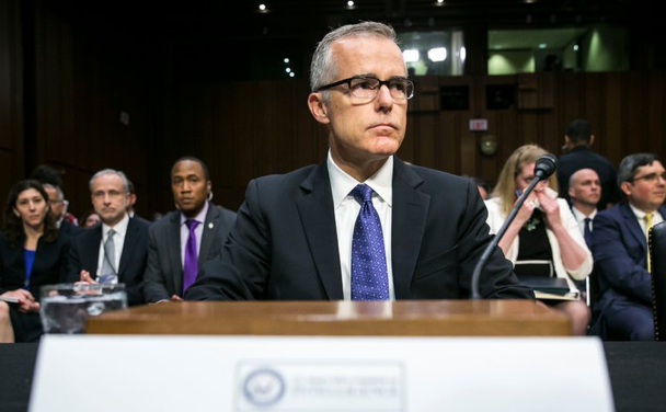Image: Andrew McCabe the subject of DoJ criminal referral… is James Comey next?