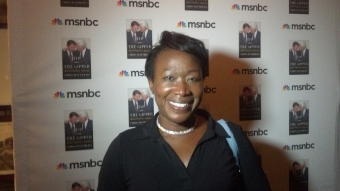 Image: Was MSNBC's Joy Reid, who claims past homophobic blog posts were created by hackers, just busted by a typo?