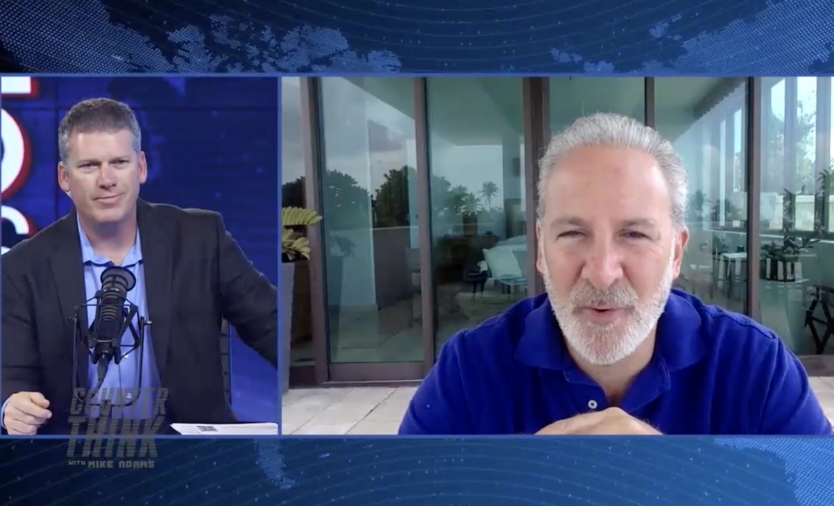Image: Mike Adams interviews financial expert Peter Schiff: The falling dollar, cryptocurrencies and why gold will skyrocket