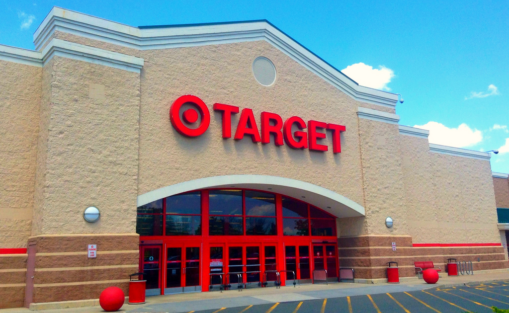 """Image: We were told this wouldn't happen: Perv exposes himself to a little girl in a Target """"gender neutral"""" bathroom"""