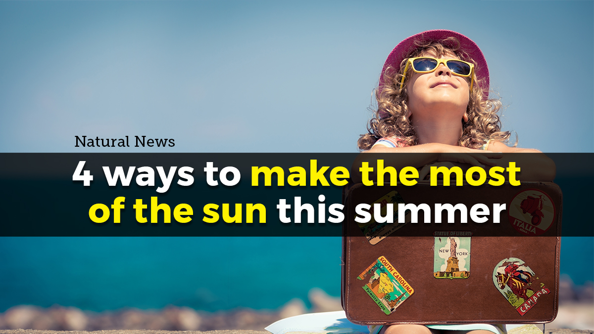Image: 4 ways to make the most of the sun this summer