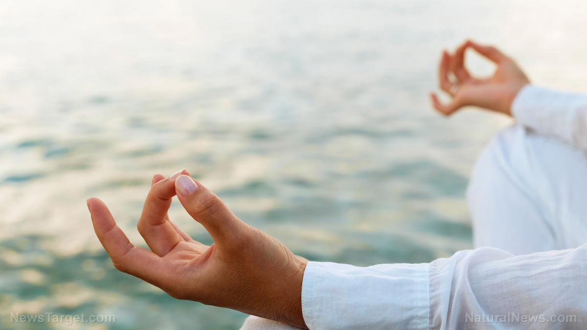 Image: Meditation, yoga, and prayer reduces your need for health care services by 43%