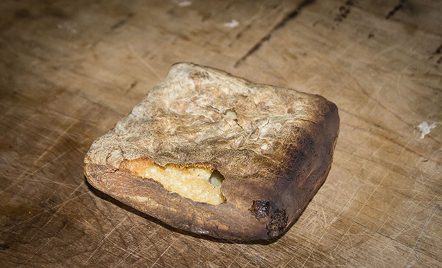 Image: Our ancestors survived on it: Hardtack bread is a staple survival food with a long shelf-life