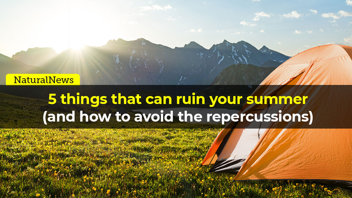 Image: 5 things that can ruin your summer (and how to avoid the repercussions)