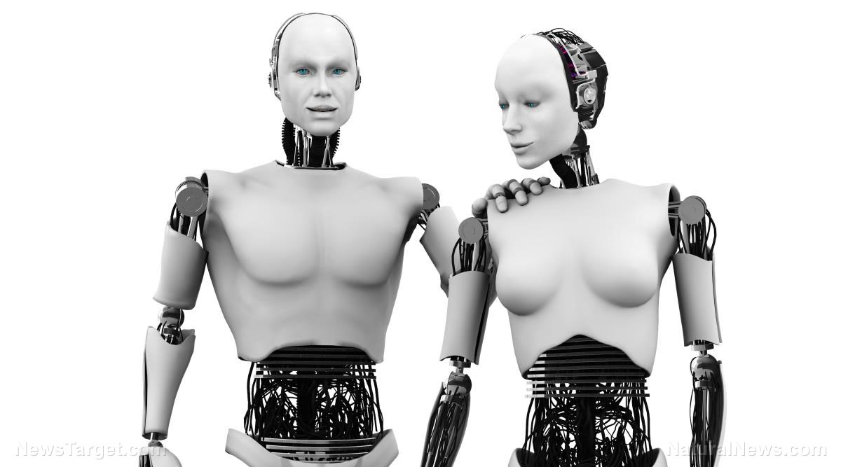Image: Robot expert predicts the rise of a human-bot hybrid species in the next 100 years