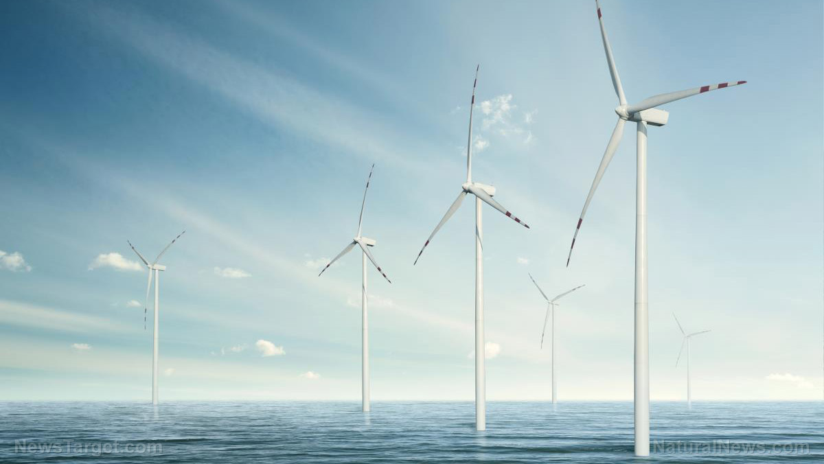 Image: Offshore wind farms found to be vulnerable to… yep… WINDS