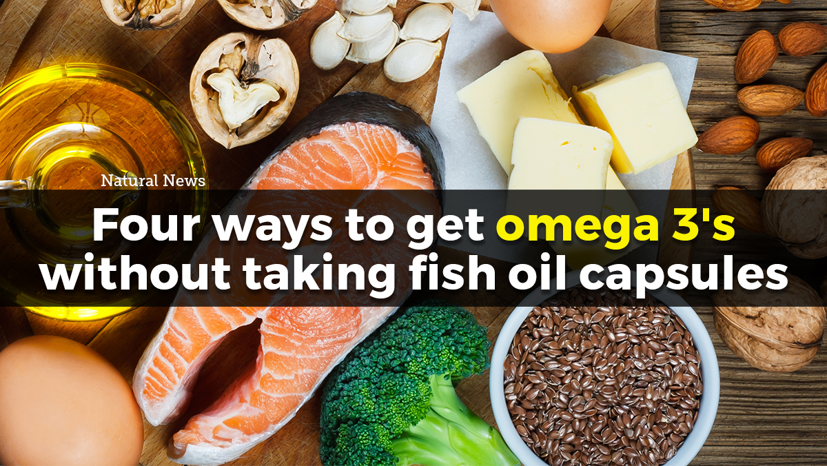 Image: Four ways to get more omega 3s without taking fish oil capsules