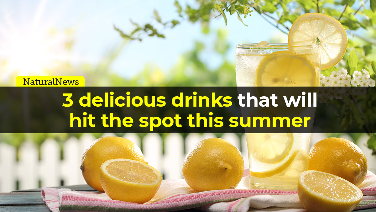 Image: 3 delicious drinks that will hit the spot this summer