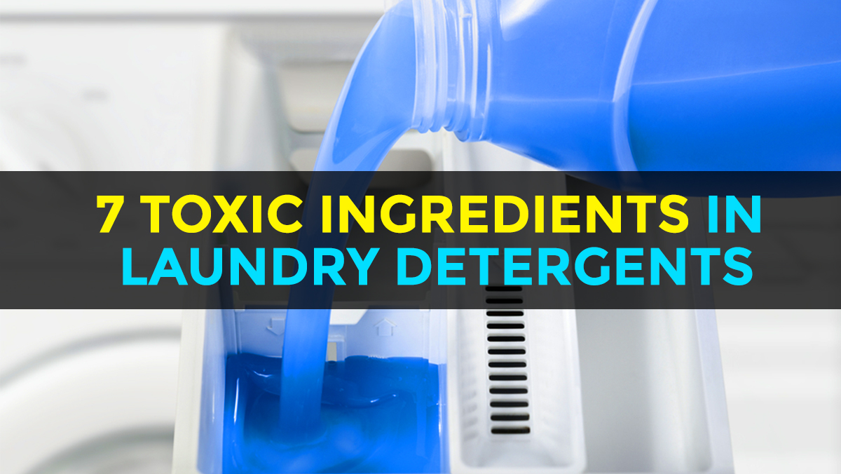 Image: Seven dangerous ingredients found in laundry detergents that could be harming you and the environment