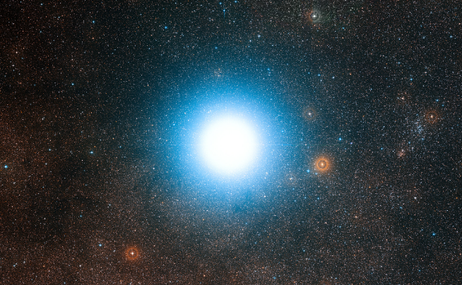 "Image: Astronomers: Life has a ""fighting chance"" in planets around Alpha Centauri A and B"