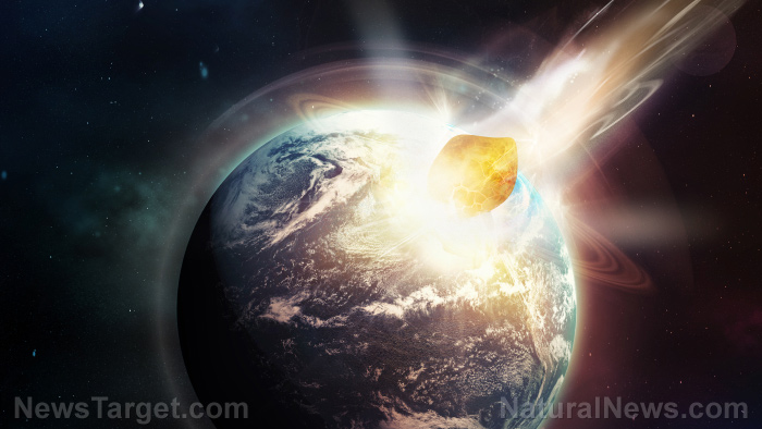 Image: Just one asteroid strike thrust the planet into YEARS of darkness, killing almost everything