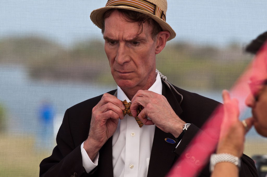 "Image: Bill Nye slammed by real scientists for blaming hurricanes on ""climate change"""