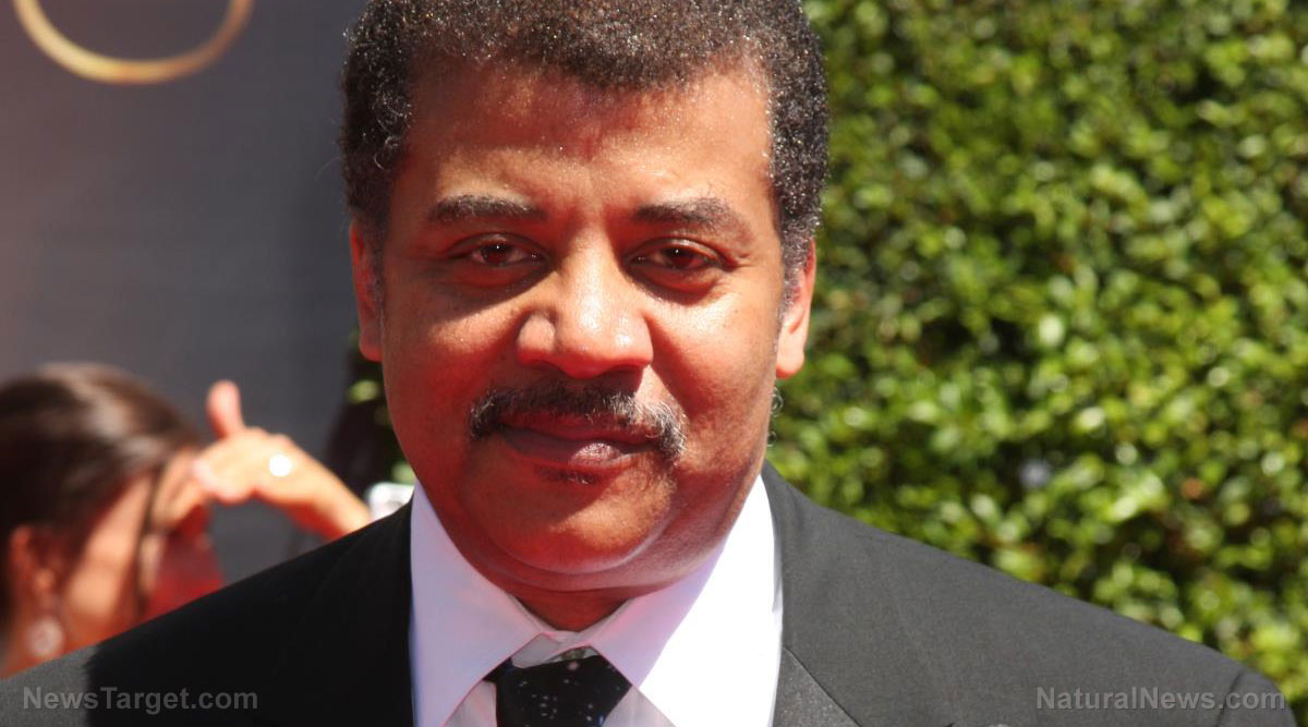 "Image: Neil deGrasse Tyson joins the list of the world's most EVIL propagandists who push poison in the name of ""science"""