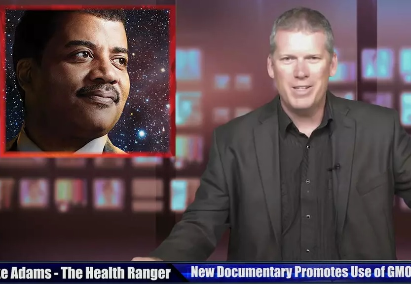 Image: Food Evolution film created by Monsanto shills and propaganda front groups like the ACSH, run by a convicted felon