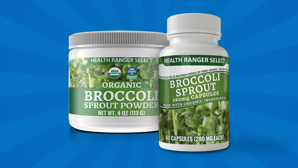 Image: Health Ranger Store announces high-sulforaphane organic broccoli sprout powder and capsules