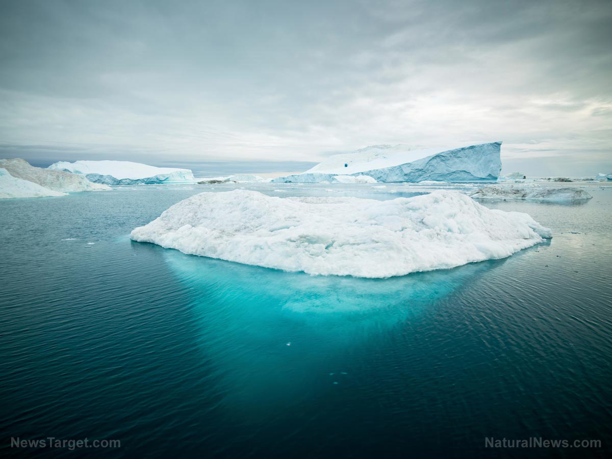Image: Greenland ice melt caused by more sunny days, not catastrophic climate change, scientists discover