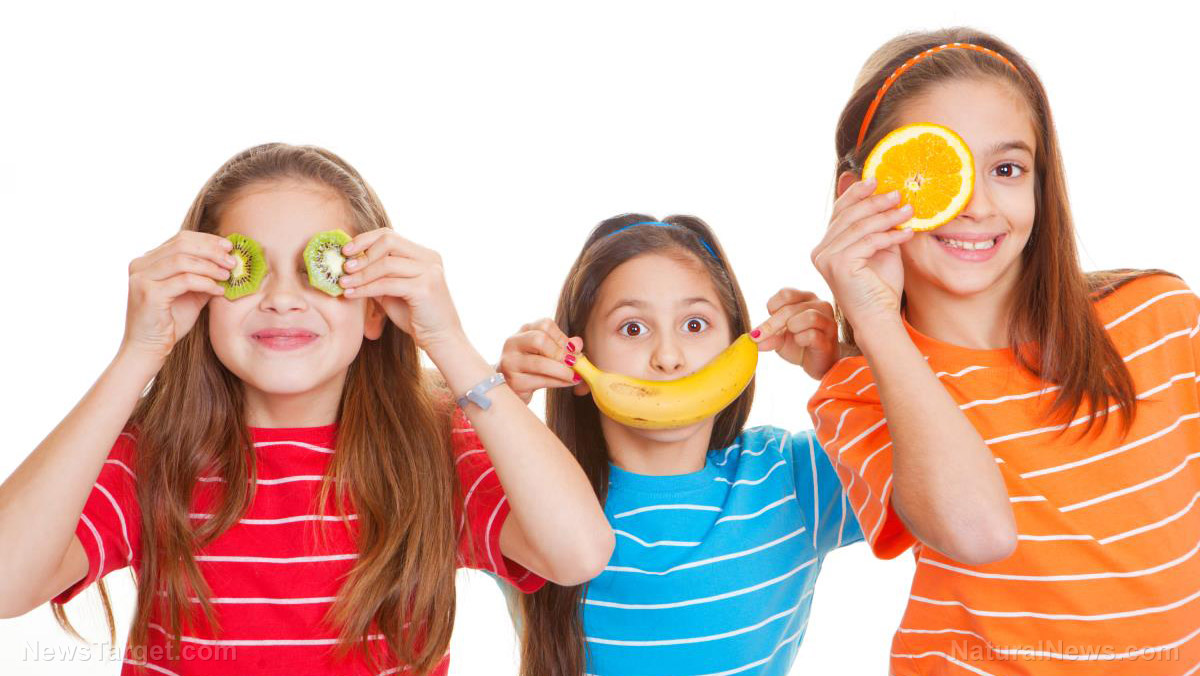 Image: Familiarity with a variety of healthy foods through the early years leads children to good eating habits later