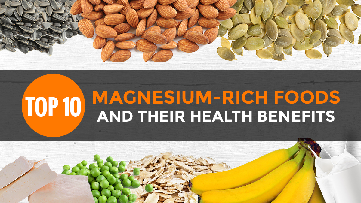 Image: Top 10 magnesium-rich foods and their health benefits