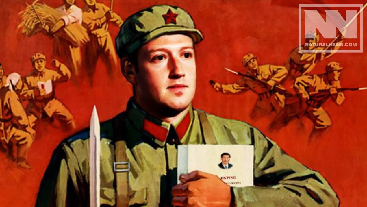 "Image: Facebook secretly tracking ""trust ratings"" for users with ""social score"" algorithm right out of communist China"