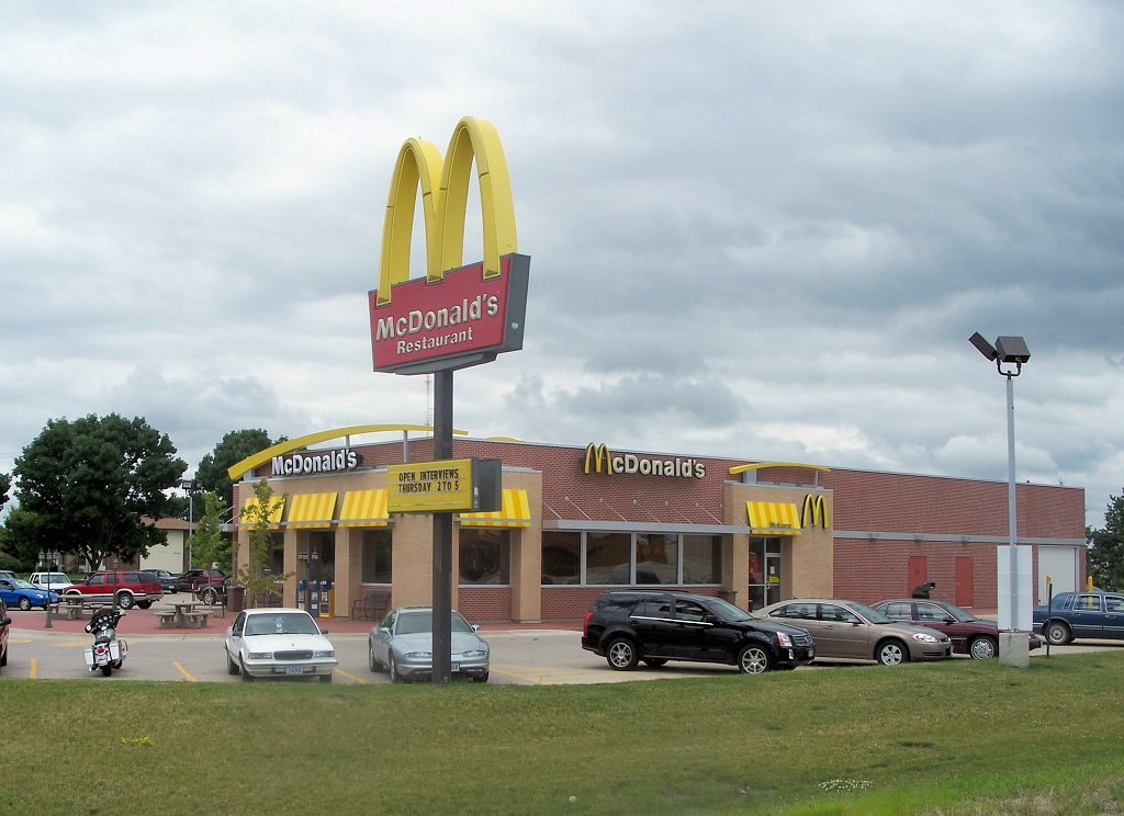 Image: McDonald's announces kiosks will replace cashiers in 2,500 restaurants