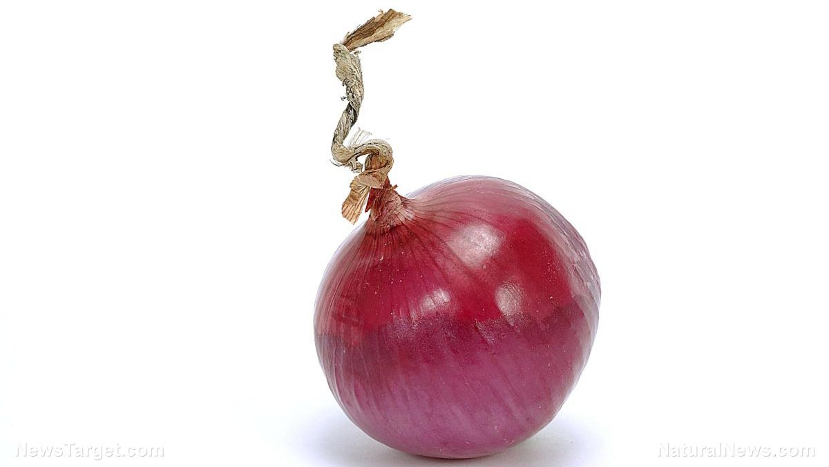 "Image: Powerful anti-cancer compound in red onions found to ""destroy"" cancer tumors"
