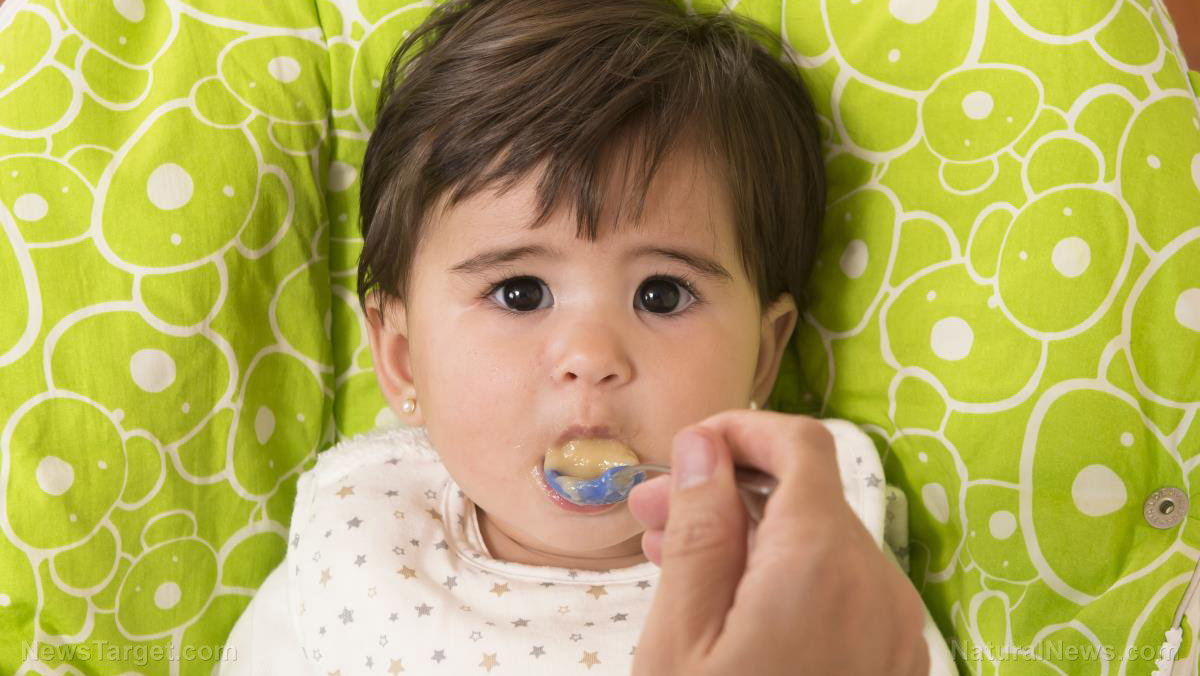 Image: Top baby food brand found LOADED with sugar