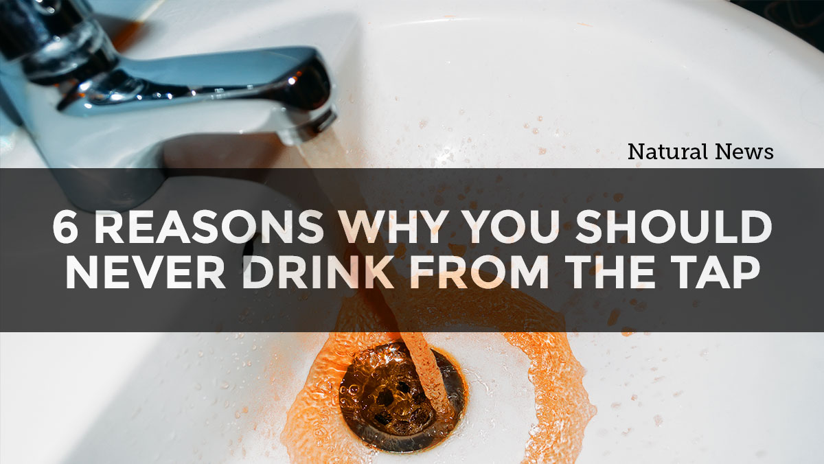 Image: What's in your water: 6 Reasons why you should never drink from the tap