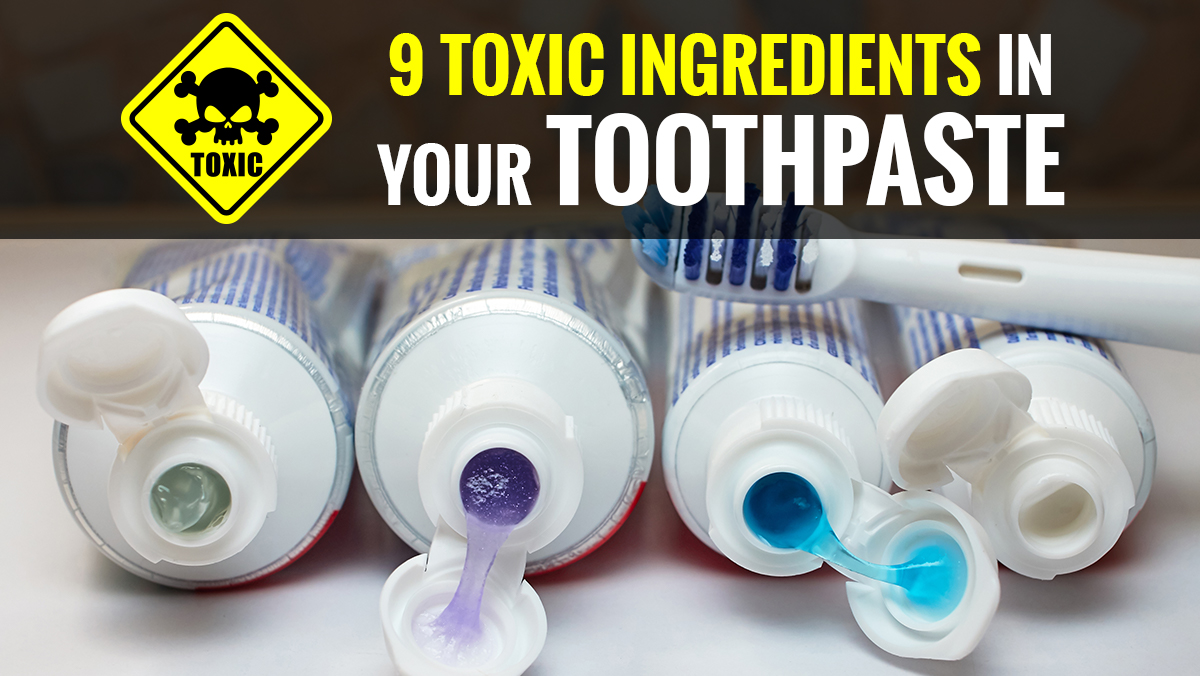 Image: Watch out for these nine TOXIC ingredients in your toothpaste