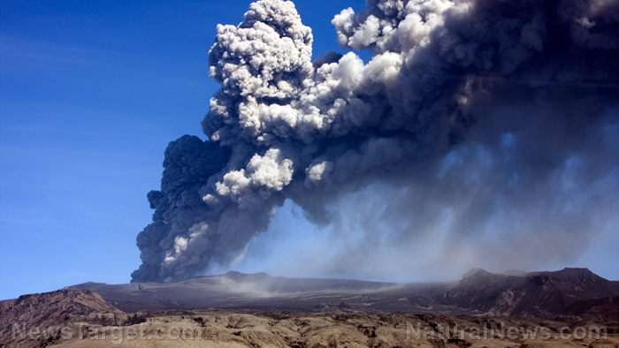Image: One lava field eruption just emitted more climate change aerosols than all 28 European countries COMBINED