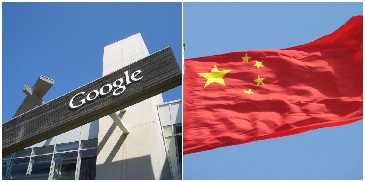 Image: Google goes all-in with Communist China; agrees to create state-controlled search engine that crushes human freedom