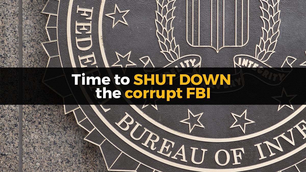 Image: The FBI is a corrupt, rogue agency with a history of extreme deceit and even terrorism against America