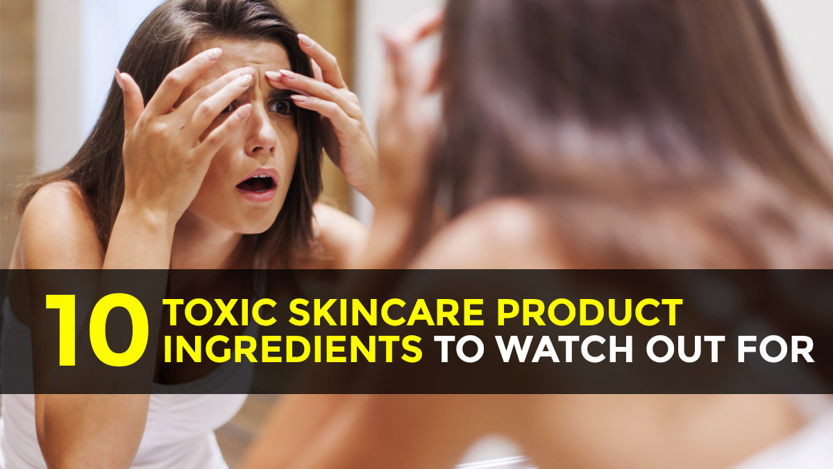 Image: 10 Toxic skincare product ingredients to watch out for