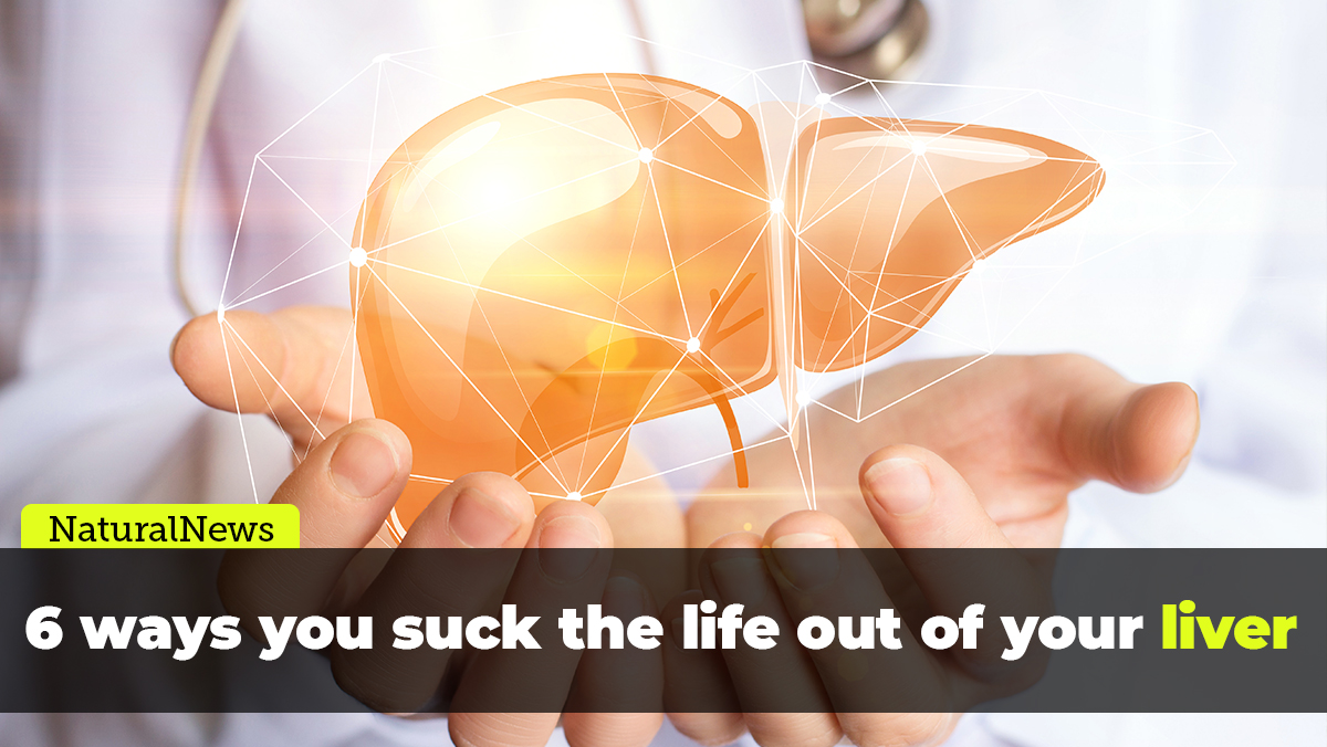 Image: Six ways you suck the life out of your liver