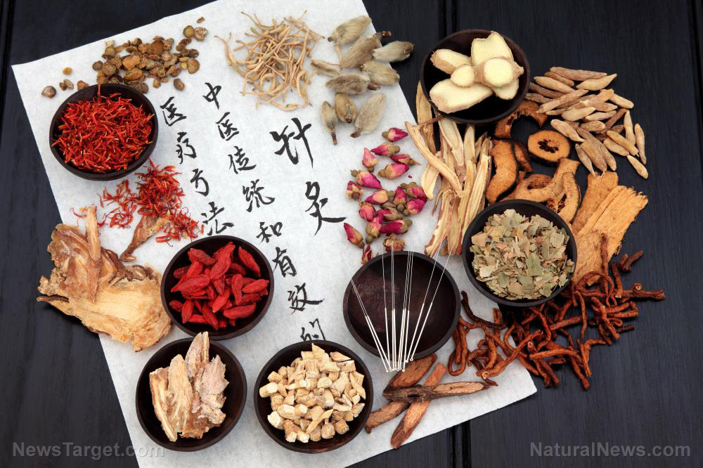 Image: A traditional Chinese herb tonic, Sheng Jiang San, found to be capable of treating influenza