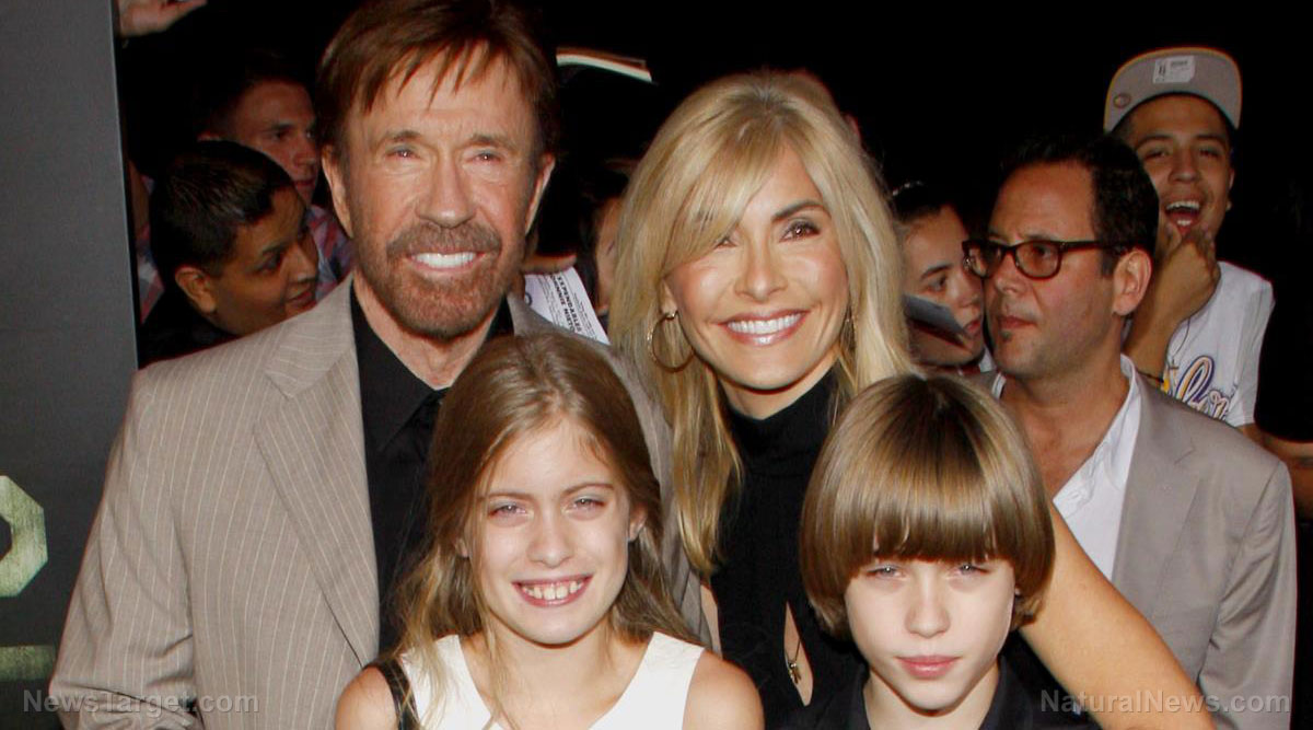Image: It takes money to try to hold Big Pharma accountable: Chuck Norris sues 11 drug companies for poisoning his wife