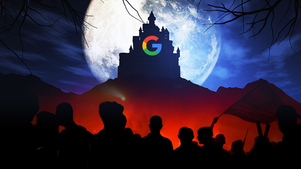 Image: Why all of humanity must declare WAR on Google… it's now a matter of human survival