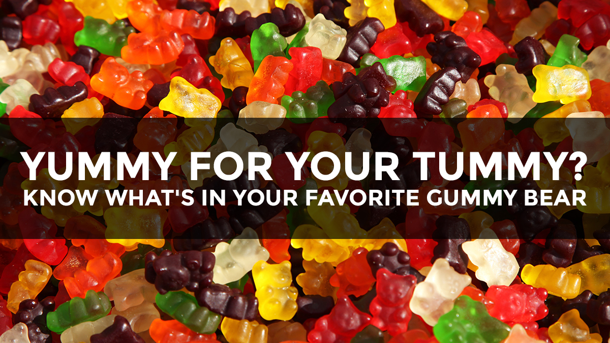 Image: Yummy for your tummy? Know what's really in your favorite gummy bear