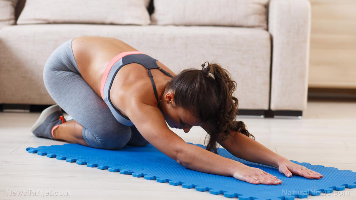 Image: Treating chronic lower back pain with yoga and physical therapy