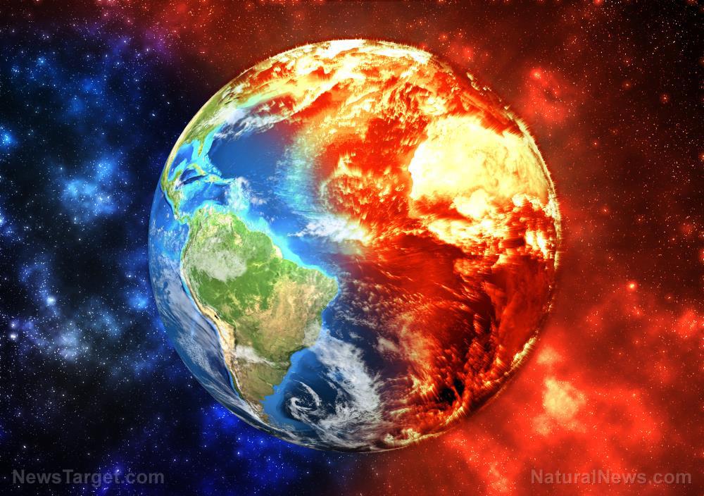 nasa write-up on worldwide warming