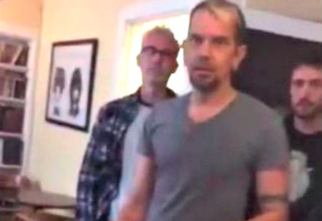 "Image: The new ""tolerance"" – Gay coffee shop owner owner screams at Christians, threatens to have anal intercourse in front of them"