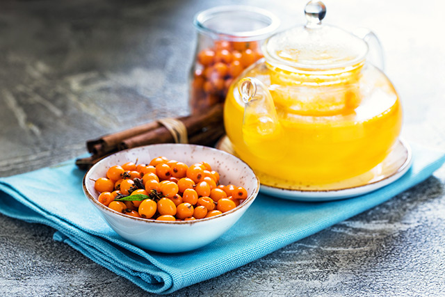 Image: Sea buckthorn oil can promote liver health and decrease the storage of body fat